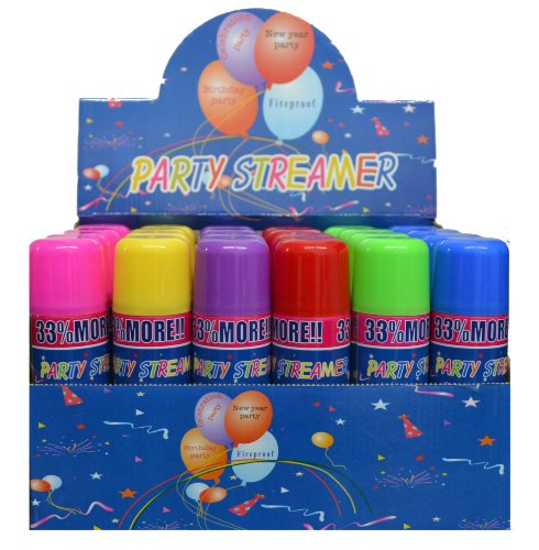 G 3 Cans Crazy, Party not Silly String