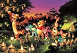 YxxArt Jigsaw Puzzles For Adults Winnie the Pooh -1000 Pieces Of Children'S Educational Toys Improve Intelligence And Reduce Stress