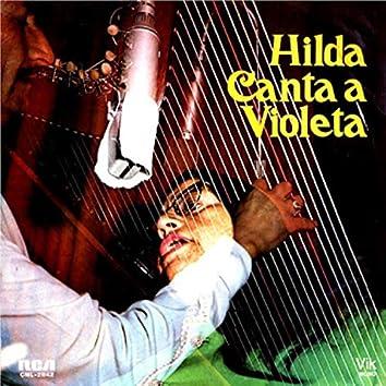 Hilda Canta a Violeta