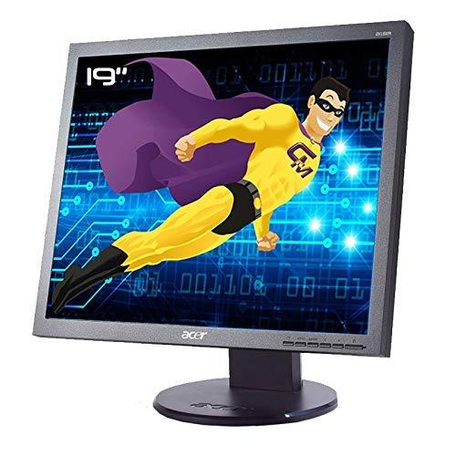 "Acer - Pantalla PC Pro 19"" B193W ET.CB3WE.G15 LCD TFT VGA DVI VESA 16:10 Widescreen (reacondicionado)"