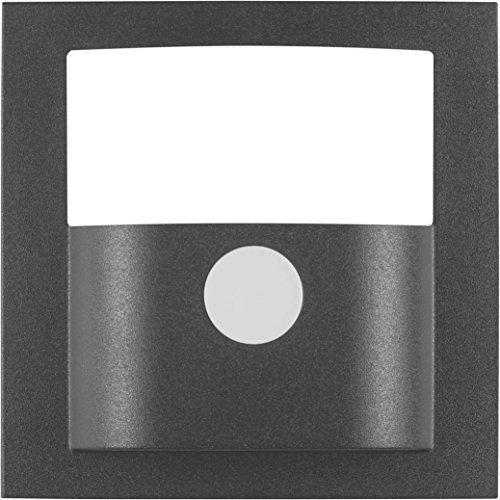Hager 11901606 – deksel rookmelder beweging, S/B, antraciet