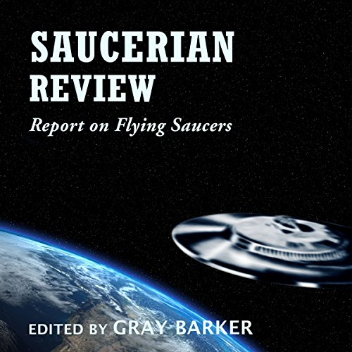 Saucerian Review audiobook cover art