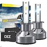 DXZ Bombilla H1 LED Coche - Lámpara Luz 12000LM 6500K Blanca - Faros Reemplazo de Halógena y Xenón Kit CSP - Garantía de 1 años