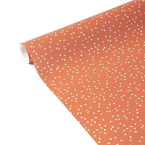 Clairefontaine 223864C Tiny Rolls - Rollo de papel de regalo (5 m x 35 cm, 80 g), diseño de Confetti