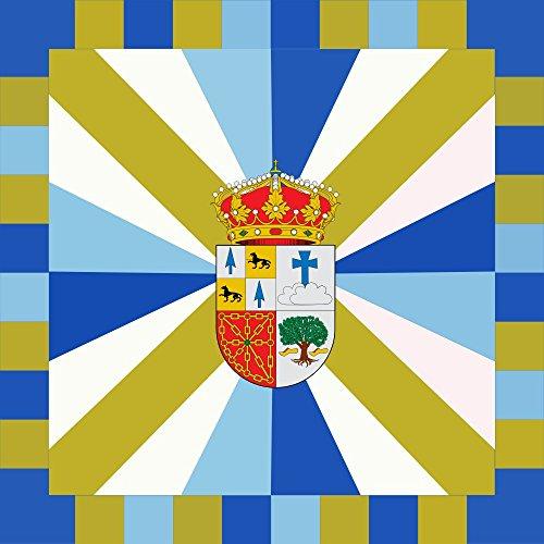 magFlags Drapeau Large Bera | Municipio de Bera/Vera de Bidasoa Navarra - España | 1.35m² | 120x120cm