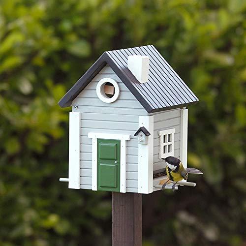 Wildlife Garden - Vogelhaus - Nistkasten Farbe: grau 184 x 194 x 247