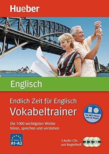 Endlich Zeit für Englisch – Vokabeltrainer: Die 1.000 wichtigsten Wörter hören, sprechen und verstehen / Paket (Endlich Zeit für Vokabeltrainer)