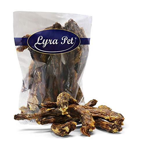 Lyra Pet® 1 kg Putenhälse 1000 g Hundefutter Snack Truthahn Hälse Leckerli Kaustange
