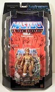He-Man MOTU Masters of The Universe - Teela Figure - Commemorative Series - Limited Edition - 1 of 10,000 - Mattel - Rare - Collectible - (E)