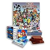 """チョコレートのギフトボックス """"SUPER SMASH BROTHERS""""★ギフトフードはホリデーギフトの素晴らしいアイデアになります! ★ Popular video game - chocolate edition! (Brawl)"""