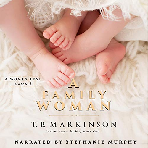 A Family Woman audiobook cover art