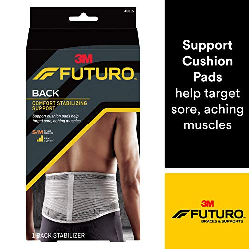 Futuro Stabilizing Back Support, Moderate Stabilizing Support, Adjust to Fit, Small/Medium