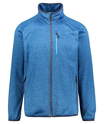 Meru Alimos Stretch Fleece Jacket Herren Directoire Blue Größe S 2019 Funktionsjacke