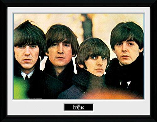 1art1 The Beatles - for Sale Gerahmtes Bild Mit Edlem Passepartout | Wand-Bilder | Kunstdruck Poster Im Bilderrahmen 40 x 30 cm
