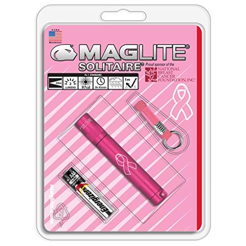 Maglite Solitaire incandescente 1-cell AAA lampe de poche en boîte de présentation Argenté, K3AMW6