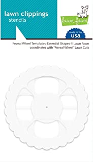 Lawn Clippings Stencils - Reveal Wheel Templates: Essential Shapes (LF1937)