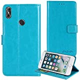 TienJueShi Blue Book-Style Flip Leather Protector Case
