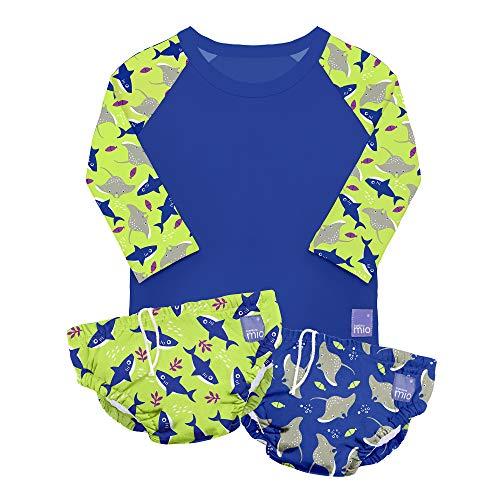 Bambino Mio SWSETM NEO - Set de natación, eléctrico, mediano (6-12 meses),...
