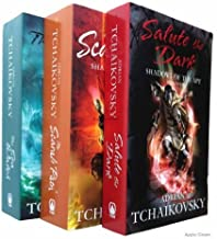Adrian Tchaikovsky Shadows of the Apt Series - 3 books numbers 4, 5, 6 (Salute the Dark / The Scarab Path / The Sea Watch ...