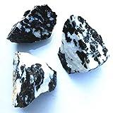 Colección Espécimen Mineral de zebrastone Natural Decoración del Tanque de Pescado (Color : Black, Size : 3-10cm)