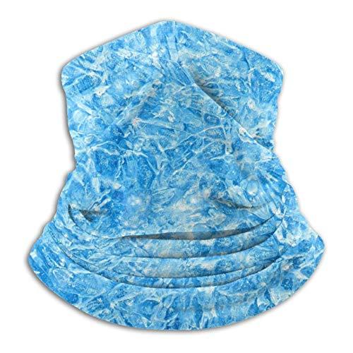 ULNIKU-T Frozen Blue Unisex reutilizable ajustable al aire libre para hombres y mujeres bufanda facial bandana multifuncional sol UV y polvo casual polaina cuello calentador impreso pasamontañas