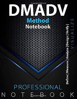 DMADV Method Notebook, Kanban Vision/Task Board, Define   Measure   Analyze   Design   Verify  , Manage your Project, Visu...