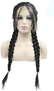 Amazon.co.uk: braided wigs for black women