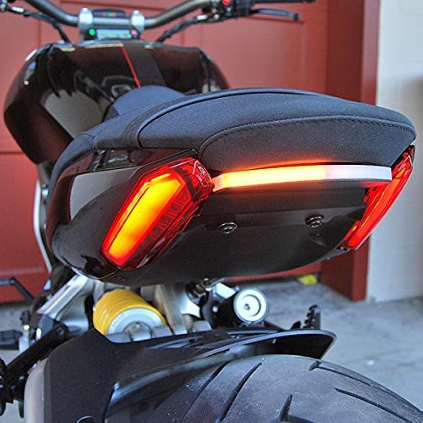 爆風突き刺す精緻化Ducati XDiavelリアウィンカー:新レイジサイクル