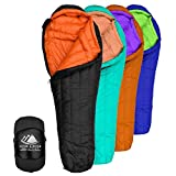 800 Fill Power Goose Down Sleeping Bag for Backpacking – Eolus 15/30...