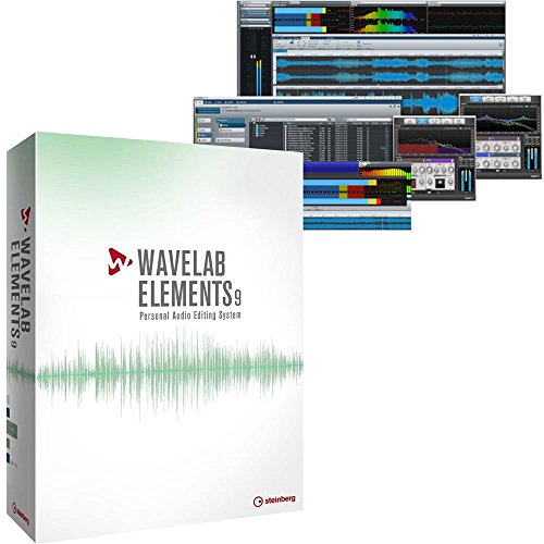 Steinberg WaveLab Elements 9 Audio Editing and Mastering Suite - coolthings.us