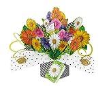 Fleurs Second Nature Pop Ups Carte d'anniversaire avec inscription'pour vous sur votre anniversaire'