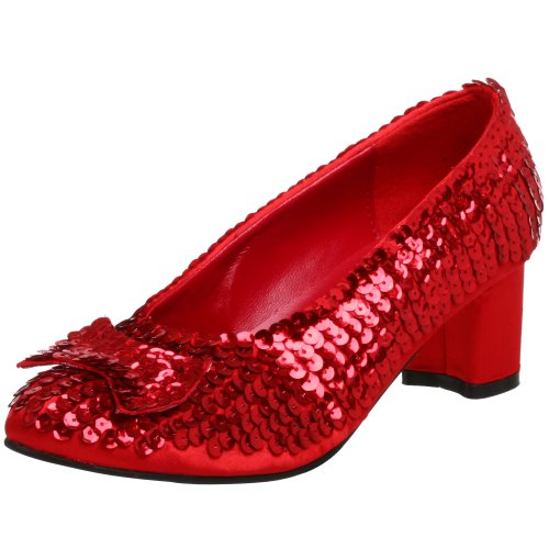 Funtasma by Pleaser Women's Dorothy-01 Pump,Red Sequins,8 M