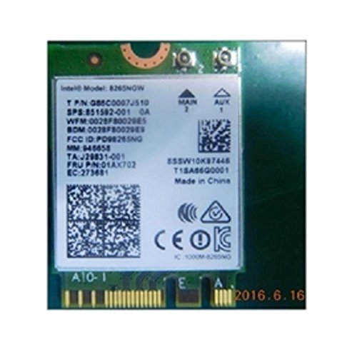 Intel Dual Band Wireless-Ac 8265 w/Bluetooth 8265.NGWMG