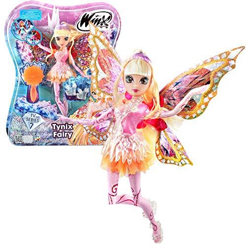 Winx Club Stella | Tynix Fairy Muñeca Magia Robe | Temporada 7 | 28 cm