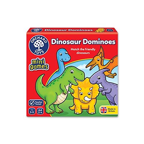 Orchard Toys Dominosteine mit Dinosaurier-Motiven