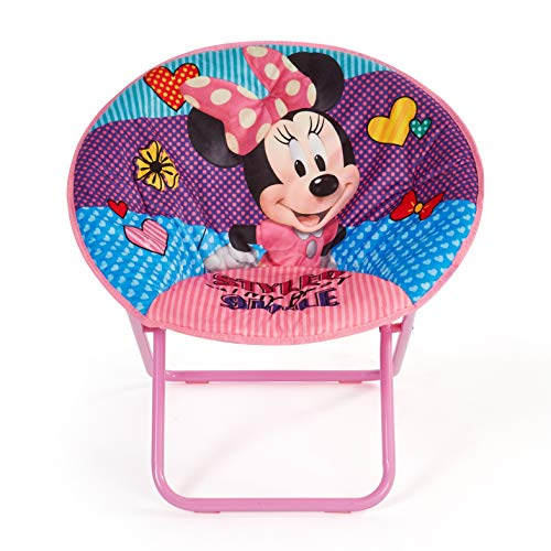 Disney Minnie Mouse 23' Saucer Chair, Pink