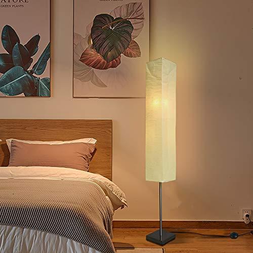 LXHLDD Lámparas De Pie De Papel De Arroz, con Lámpara De Poste Alto con Base De Carga, Decoración Ideal para El Hogar, Sala De Estar, Dormitorio