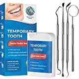 Glalove Temporary Tooth Set, Temporary Tooth Beads & Break Tooth Repair Kit for Dental Veneers Missing Tooth Replacement, Perfect Smile Veneers Product