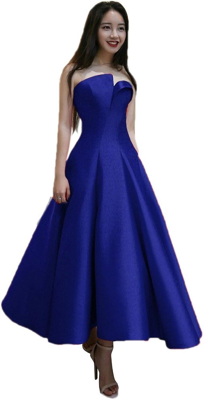 Aurora Bridal 2016 Satin Long Evening Dress Bridal Formal Dresses Prom Party Gown