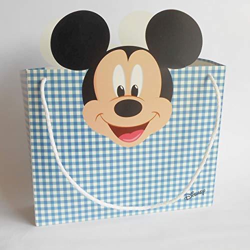 Disney Mickey Mouse Box Shoppers Bag Set of 10 Art 68037