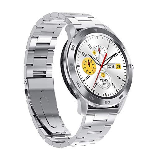 Toule - Smart Bracelet Bluetooth Call Color Screen Sports Bracelet Watch Silver steel