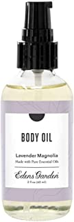 Edens Garden Lavender Magnolia Aromatherapy Body Oil (Made With Pure Essential Oils & Vitamin E- Great For Massage & Daily...