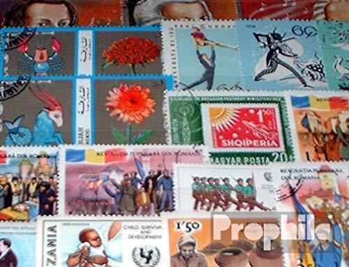 Prophila Collection Tutto Mondo 500 Diversi Francobolli (Francobolli per i Collezionisti)