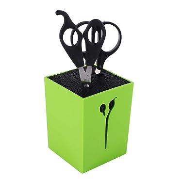 Scissor Holder, Samfox Professional Salon Hairdressing Barber Scissors Comb Bracket Stand Tool(Green)