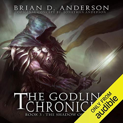 The Godling Chronicles: The Shadow of Gods, Book 3 audiobook cover art