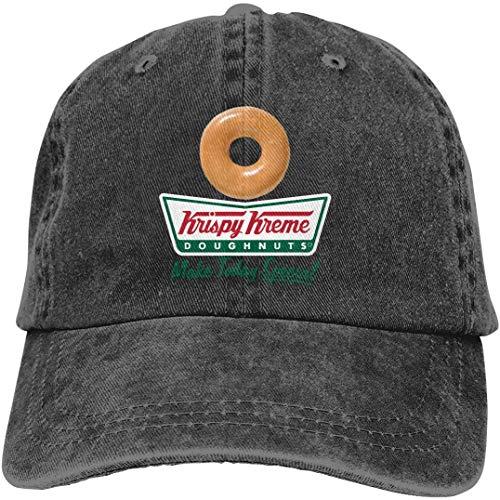 Unisex Get A Krispy Kreme Donut Funny Adjustable Adult Denim Cowboy Hat Casquette
