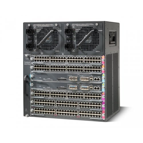 Cisco Catalyst 4507R-E 7-Slot Chassis - Chasis de Red (20,2 kg, PoE,...