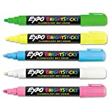 expo wet sticks - Bright Sticks Wet-Erase Fluorescent Marker Set, Bullet Tip, Assorted