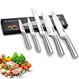 Kitchen Knife Sets, 5 Piece Stainless Steel HOBO Kitchen Knives with Ultra Sharp Blade