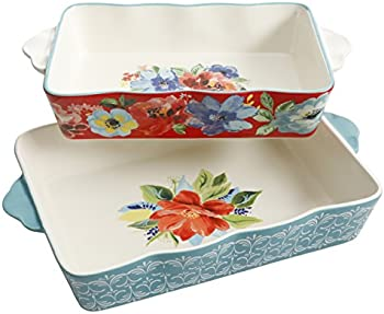 2-Piece The Pioneer Woman Spring Bouquet Baker Set